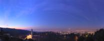 La Stazione Spaziale Internazionale transita nel cielo sopra Torino.