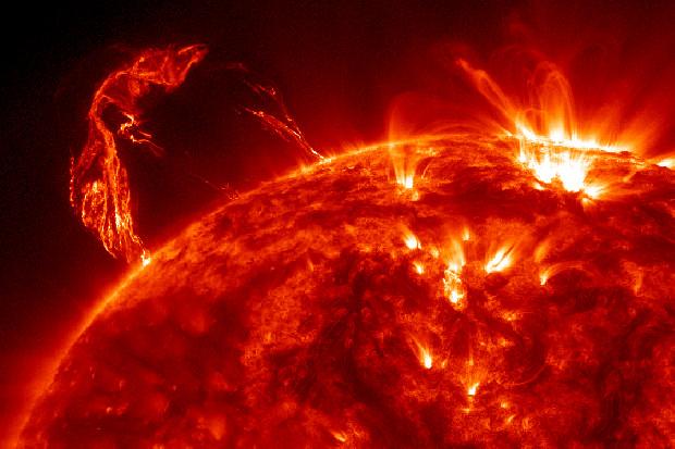 Crediti: NASA/SDO and the AIA, EVE, and HMI science teams.