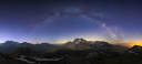 Voie lactée Vanoise Grande Casse Grande Grand roc noirMotte