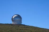 La cupola del GranTeCan.