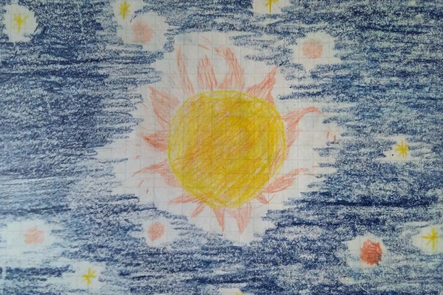 disegno-sole