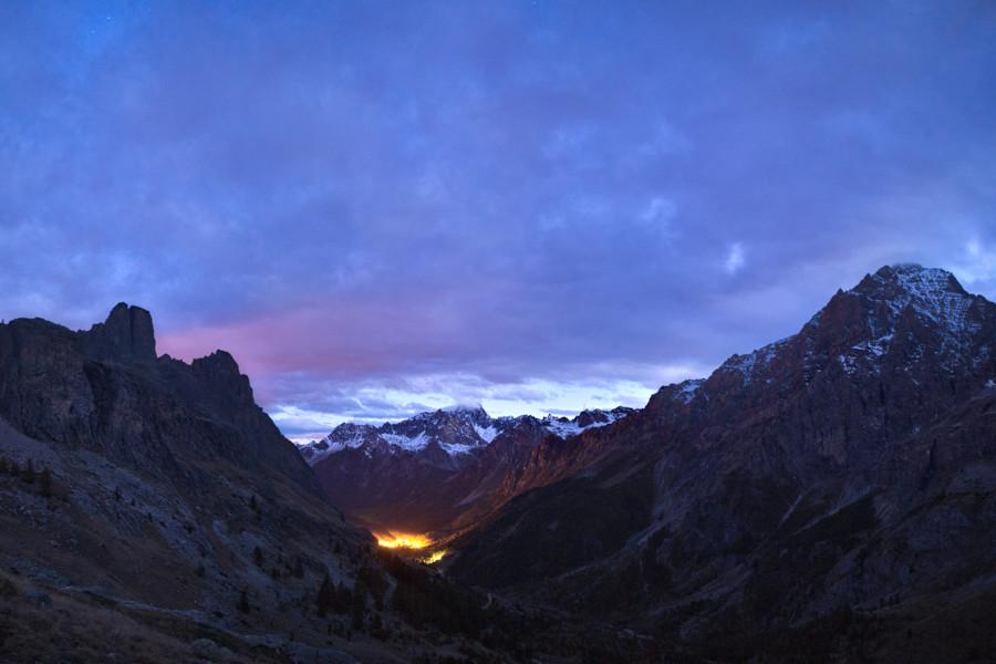 Il primo incontro con l'alta Val Maira non è stato tra i più fortunati.