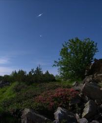 Giove iridium flare