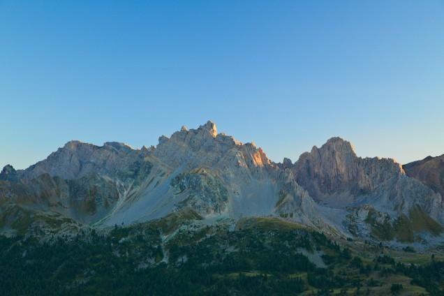 Tramonto valle della Clarée