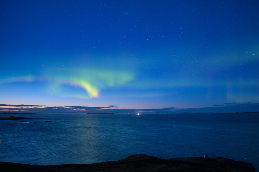 Aurora-flare