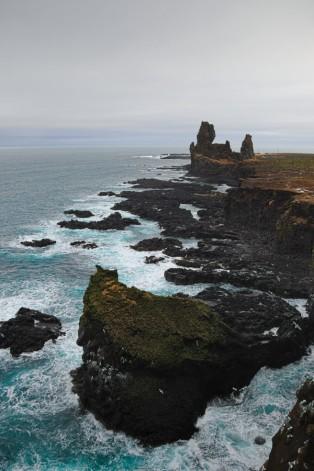 Scogliere della penisola di Snæfellsnes.