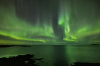 Aurora boreale.