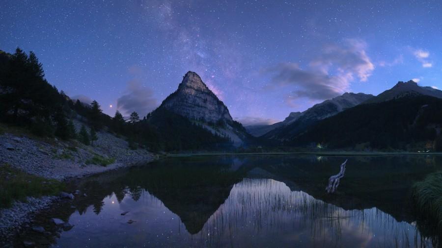 Crepuscolo Lac des Sagnes