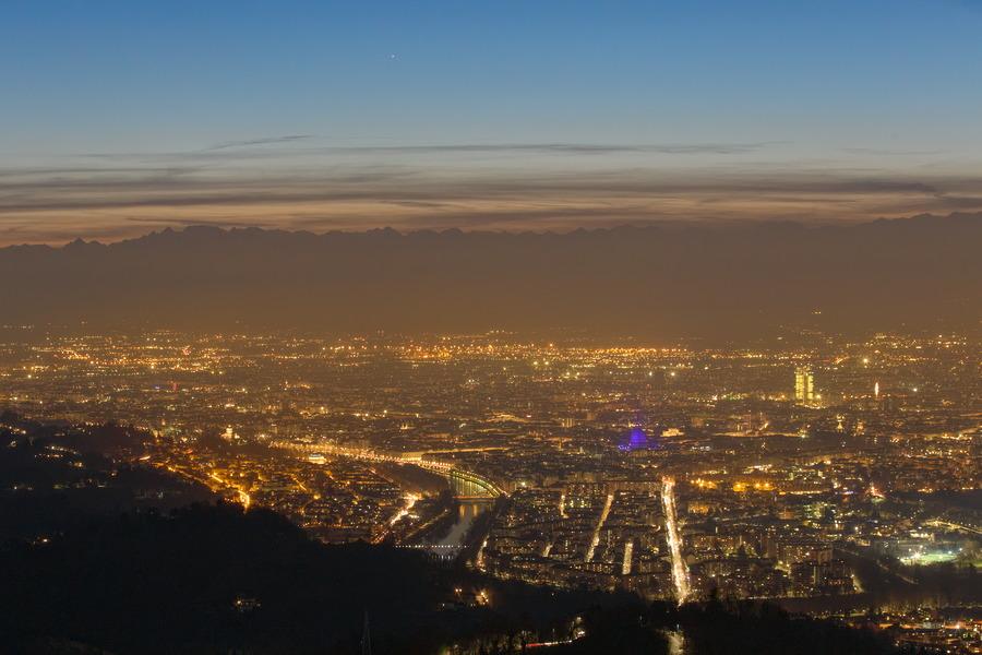 Mercurio su Torino