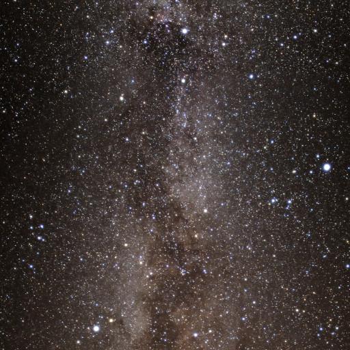 La Via Lattea.